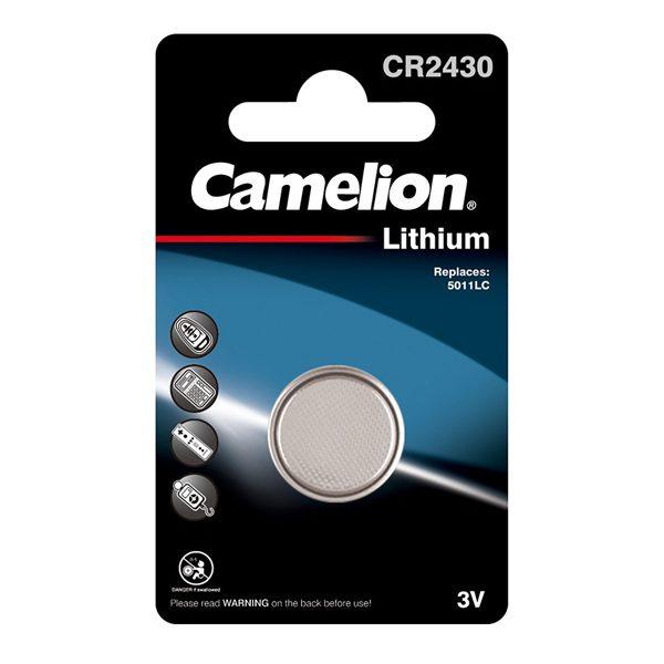 باتری سکه ای کملیون (CR2430-BP1)