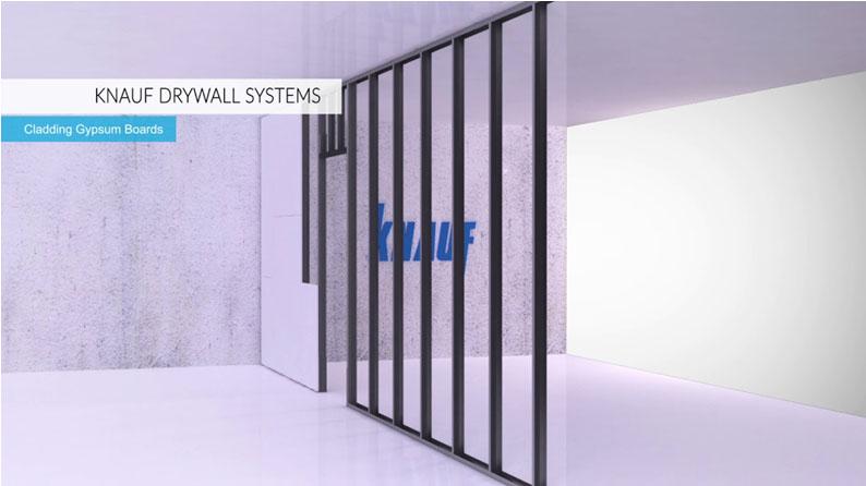 نصب تلویزیون با پایه دیواری بر روی دیوار کناف