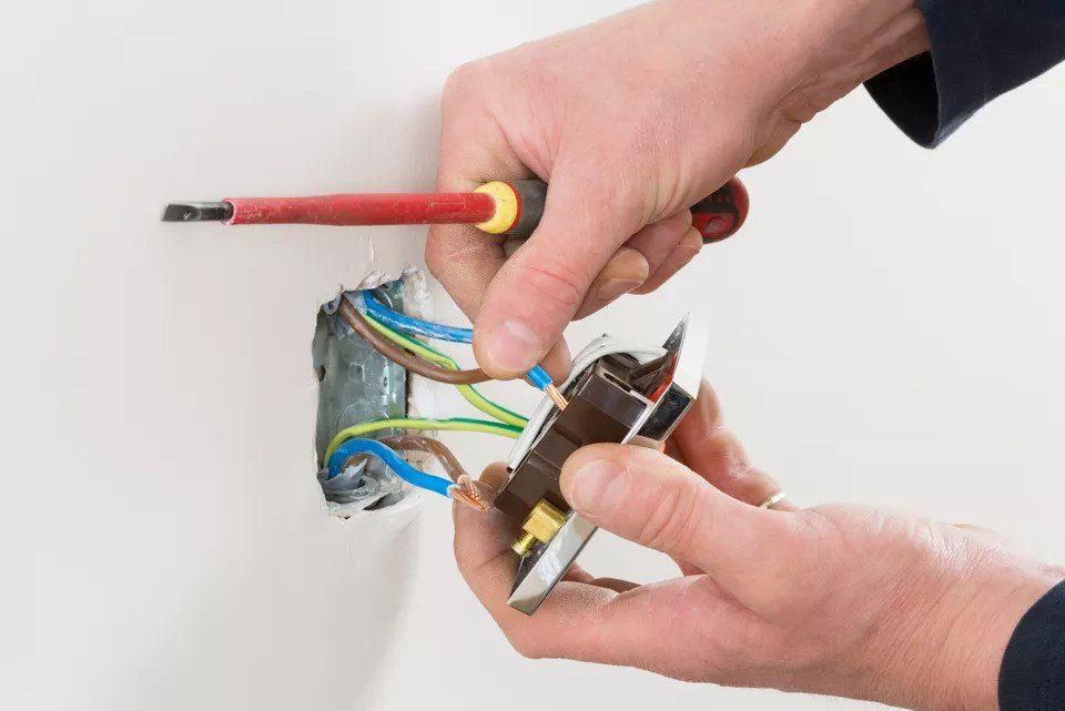 روش سیم کشی پریز برق در ساختمان