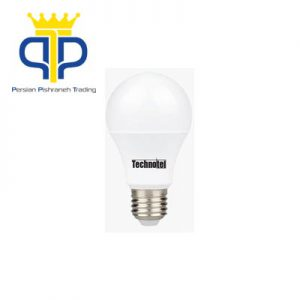 لامپ ال ای دی حبابی ۹ وات تکنوتل