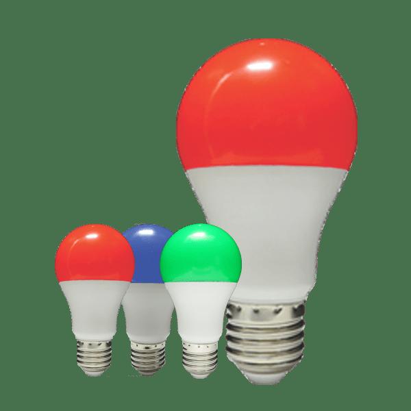 لامپ ال ای دی 12 وات رنگی بالاستیران