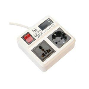 چند راهی برق و محافظ 2 خروجی ارتدار دیجیتال یخچالی گلدن الکترونیک