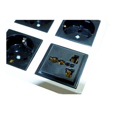 محافظ ولتاژ 4 خانه گلدن الکترونیک