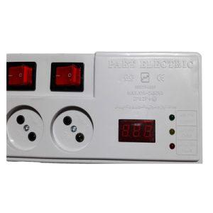 محافظ 4 خانه دیجیتال USB دار پارت الکتریک