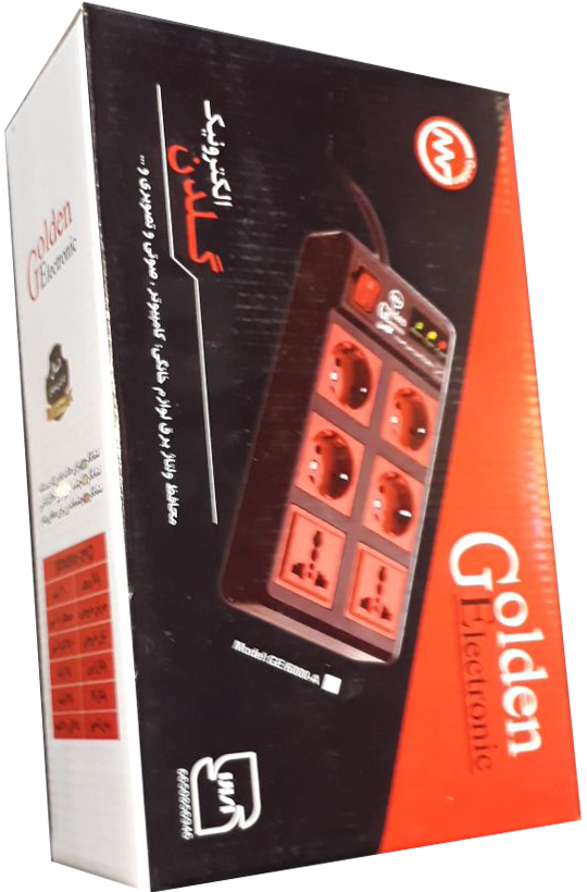 محافظ ولتاژ 6 خانه گلدن الکترونیک