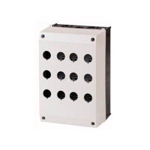 جعبه شاسی دوازده تایی طوسی ، مشکی شراک (MM(M22)-I12)