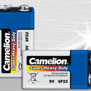 باتری 9 ولت آبی شیرینگ کملیون