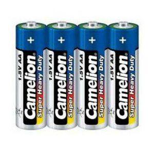 باتری قلمی آبی شیرینگ 4 عددی کملیون
