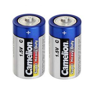 باتری متوسط آبی شیرینگ 2 عددی کملیون