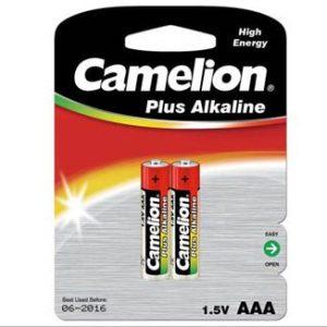 باتری نیم قلمی پلاس آلکالاین 2 عددی کملیون