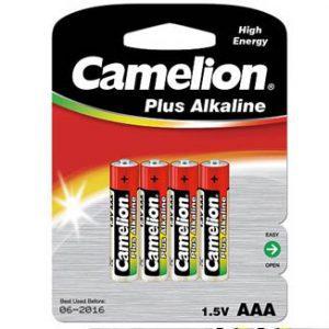 باتری نیم قلمی پلاس آلکالاین 4 عددی کملیون