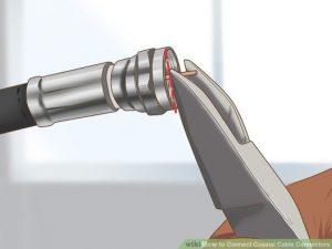 نحوه اتصال فیش آنتن تلویزیون به سیم آنتن تلویزیون