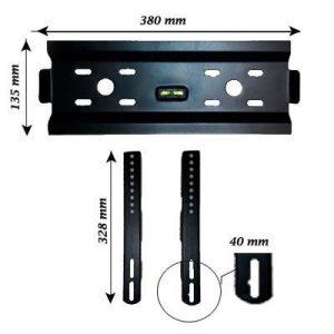 پایه دیواری تی وی جک مدل Z3 ( 22 تا 40 اینچ)