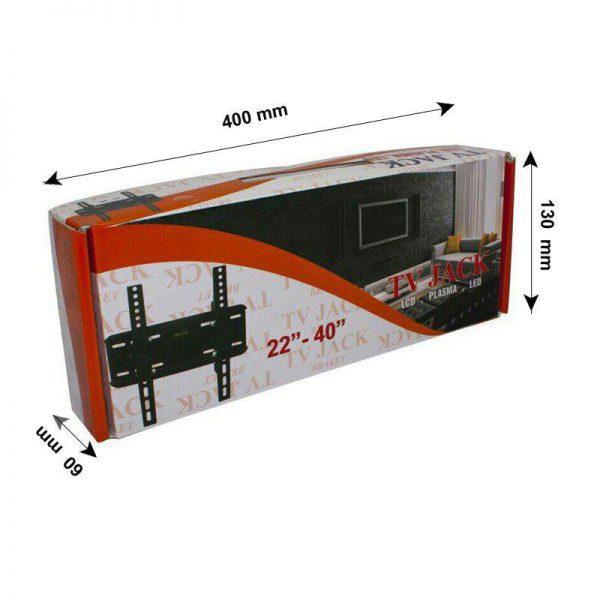 پایه دیواری تی وی جک مدل Z1 ( 22 تا 40 اینچ)