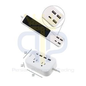 پورت USB محافظ برق
